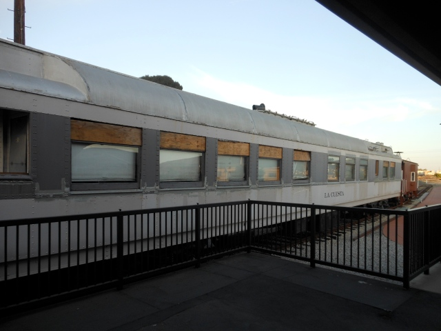 old railroad car