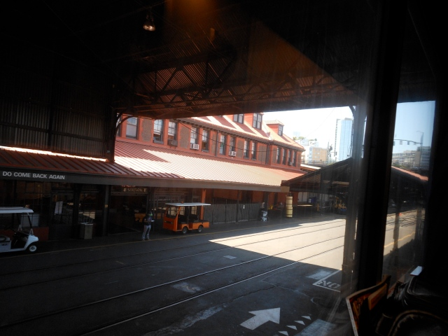 Portland station view for 3.5 hours