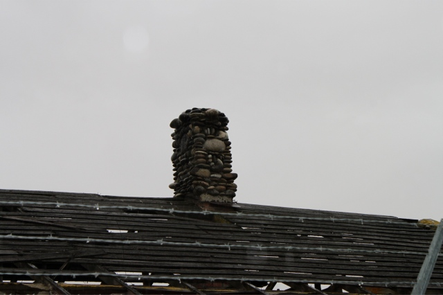 another chimney face