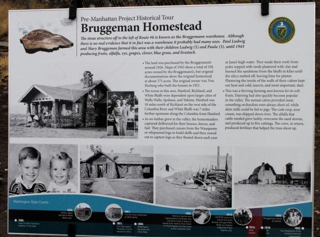 Bruggeman Homestead sign