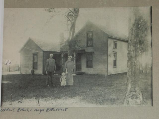 Albert, Ethel and Boyd Ethelbert