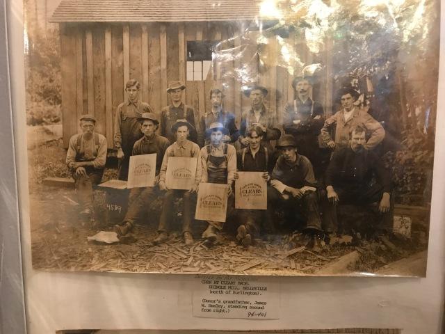 Belleville shingle mill