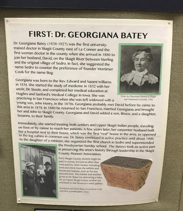 Dr. Georgiana Batey information