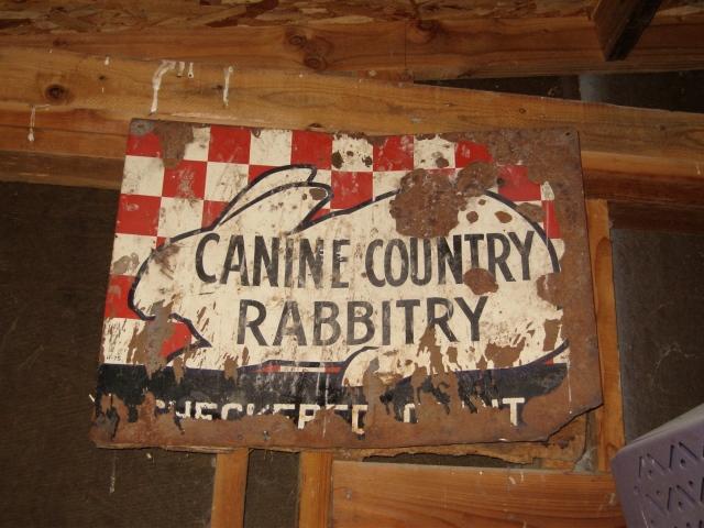 caninecountryrabbitrysign