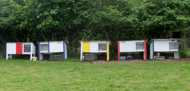 painted hutches