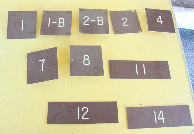 patients door numbers