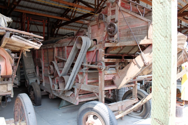 mostly wood combine