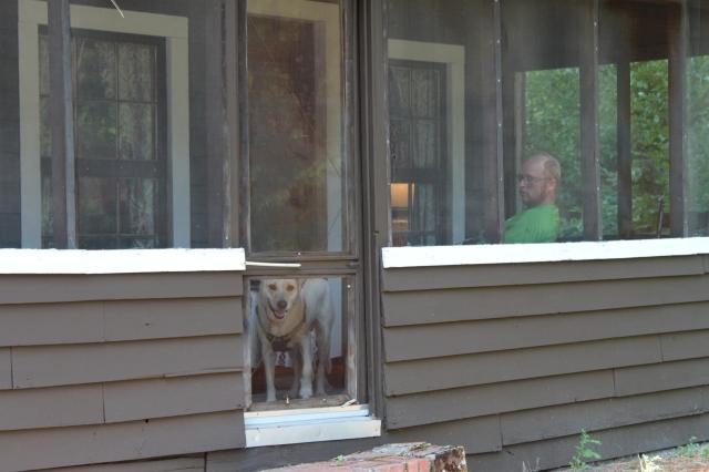 Steve on porch
