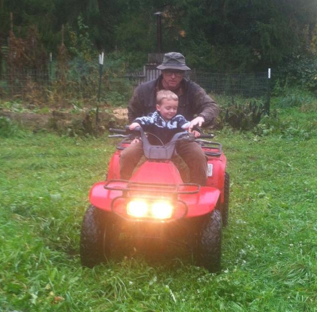 Tom William and quad