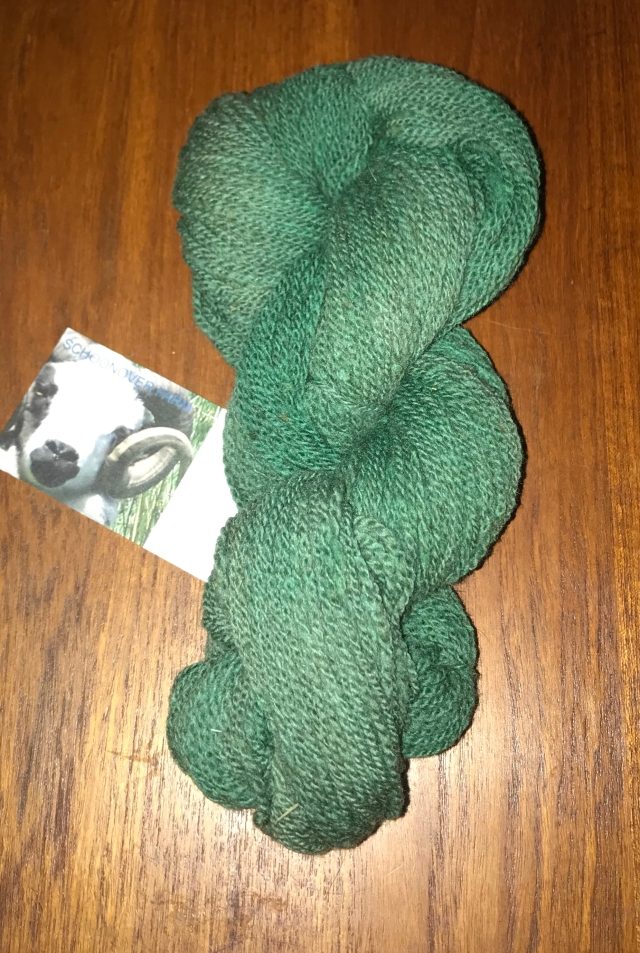 Amazon Green yarn