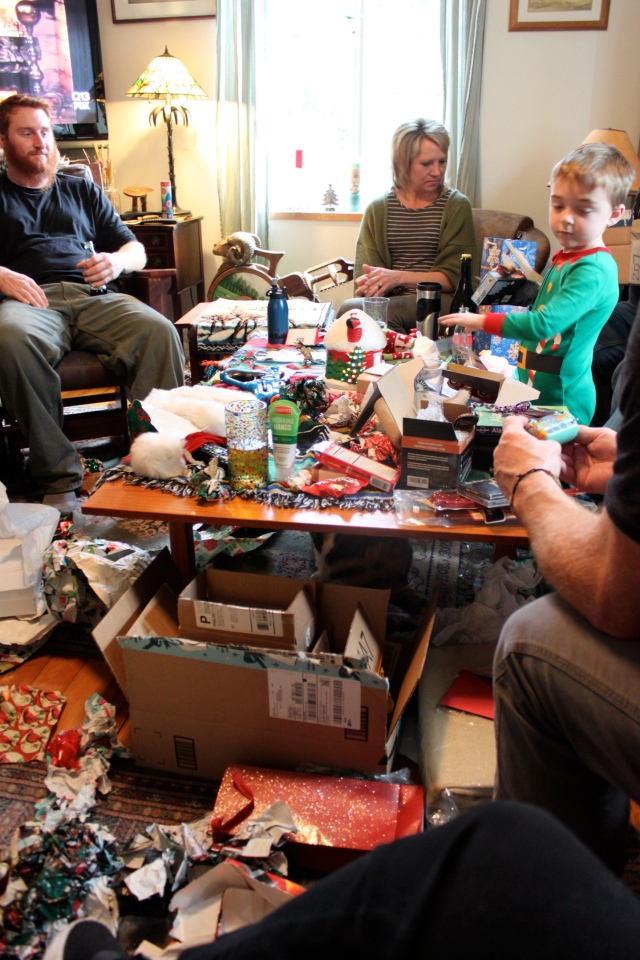 Christmas joyous mess