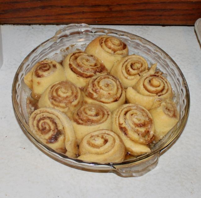 pecan rolls baked