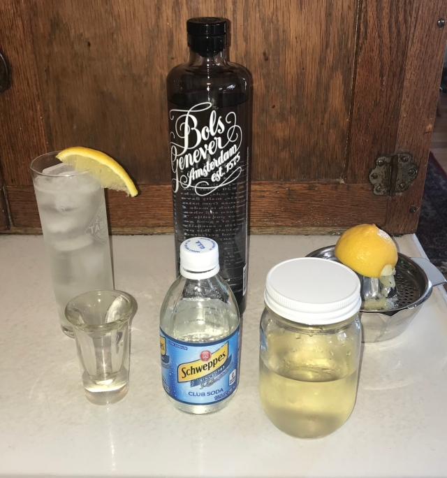 John Collins with Bols Genever gin 032520