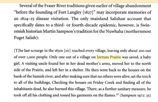 1830 scourge Jarman Prairie