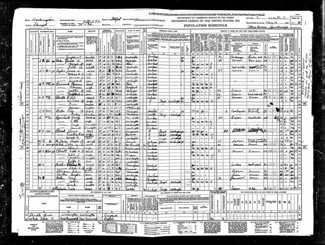 1940 United States Federal Census Belfast page 2