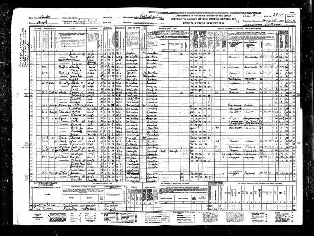 1940 United States Federal Census Belfast page 3