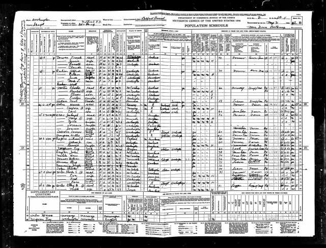 1940 United States Federal Census Belfast page 6