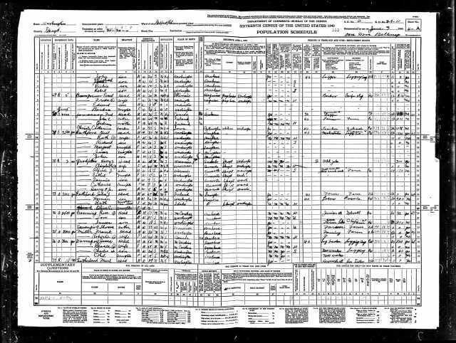 1940 United States Federal Census Belfast page 7