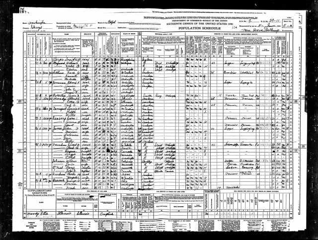 1940 United States Federal Census Belfast page 9