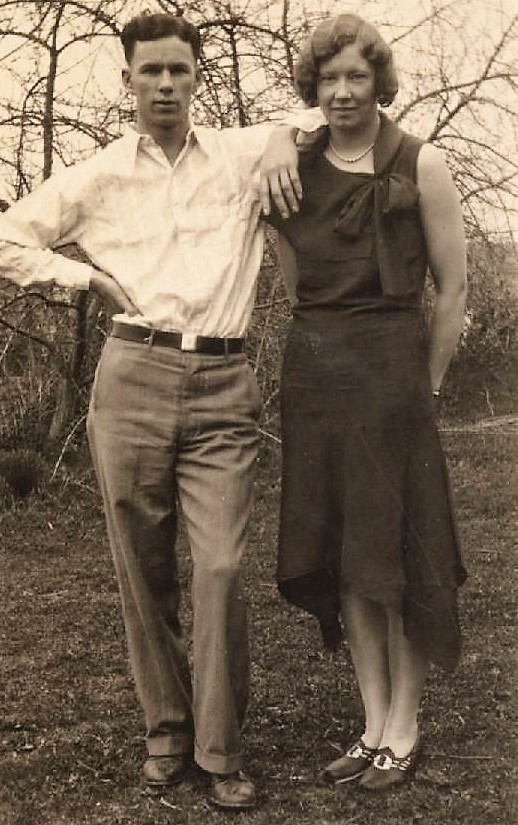 Ernest and Freda Bumgarner 1946