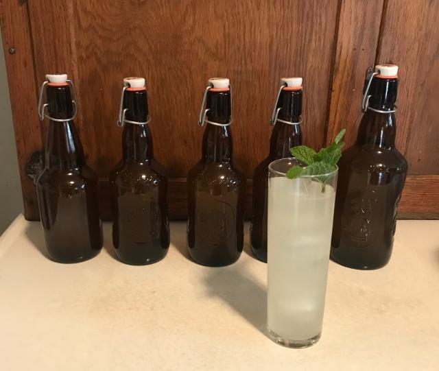 Ginger Beer served