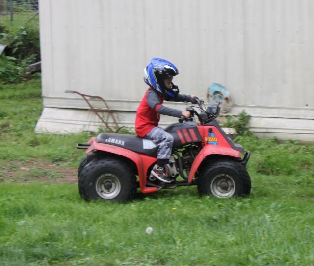 William on quad
