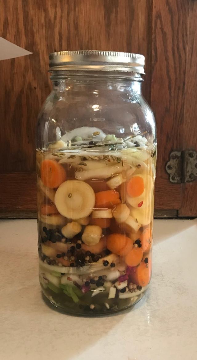 Winter Root Refrigerator Pickles