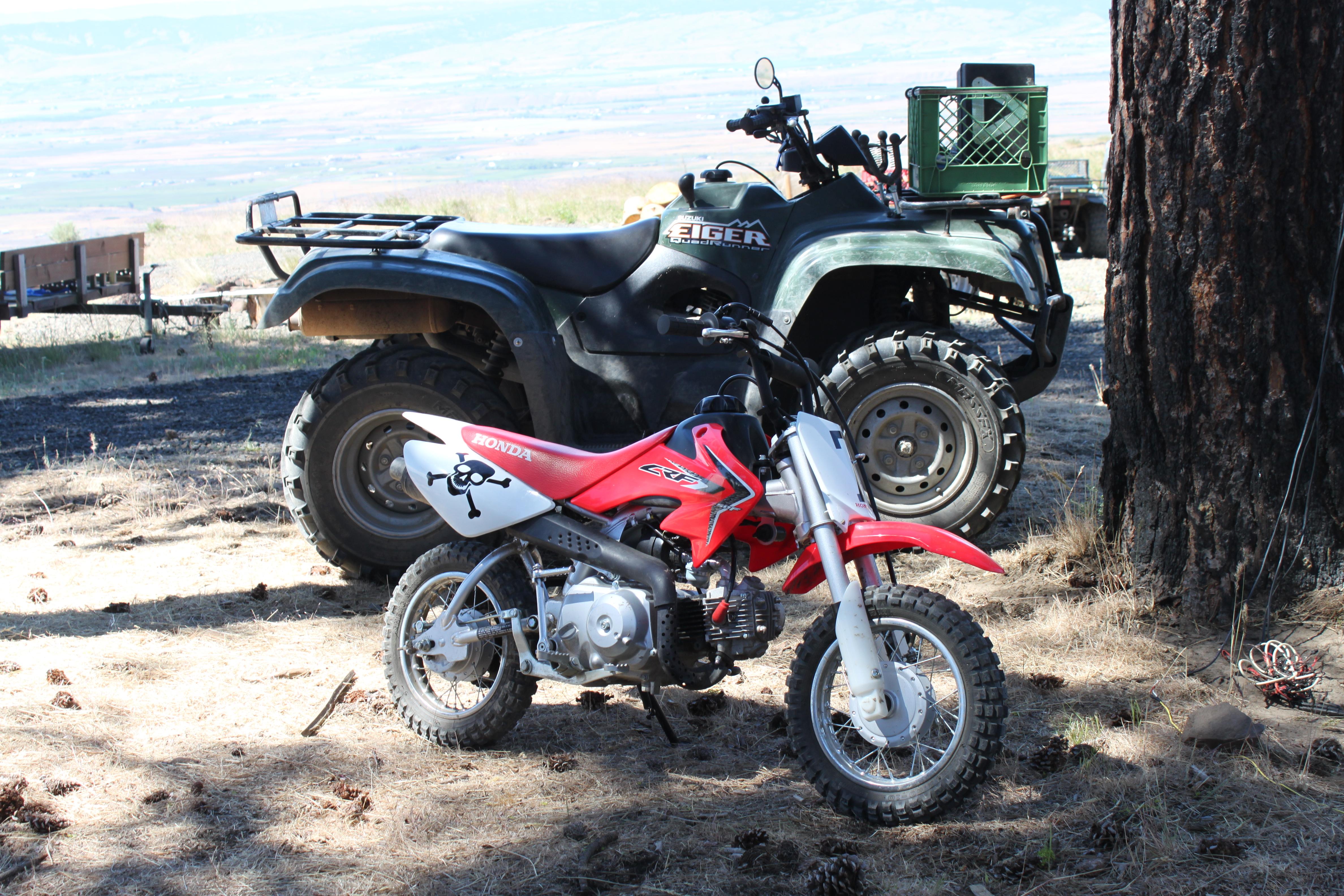 bike and quad