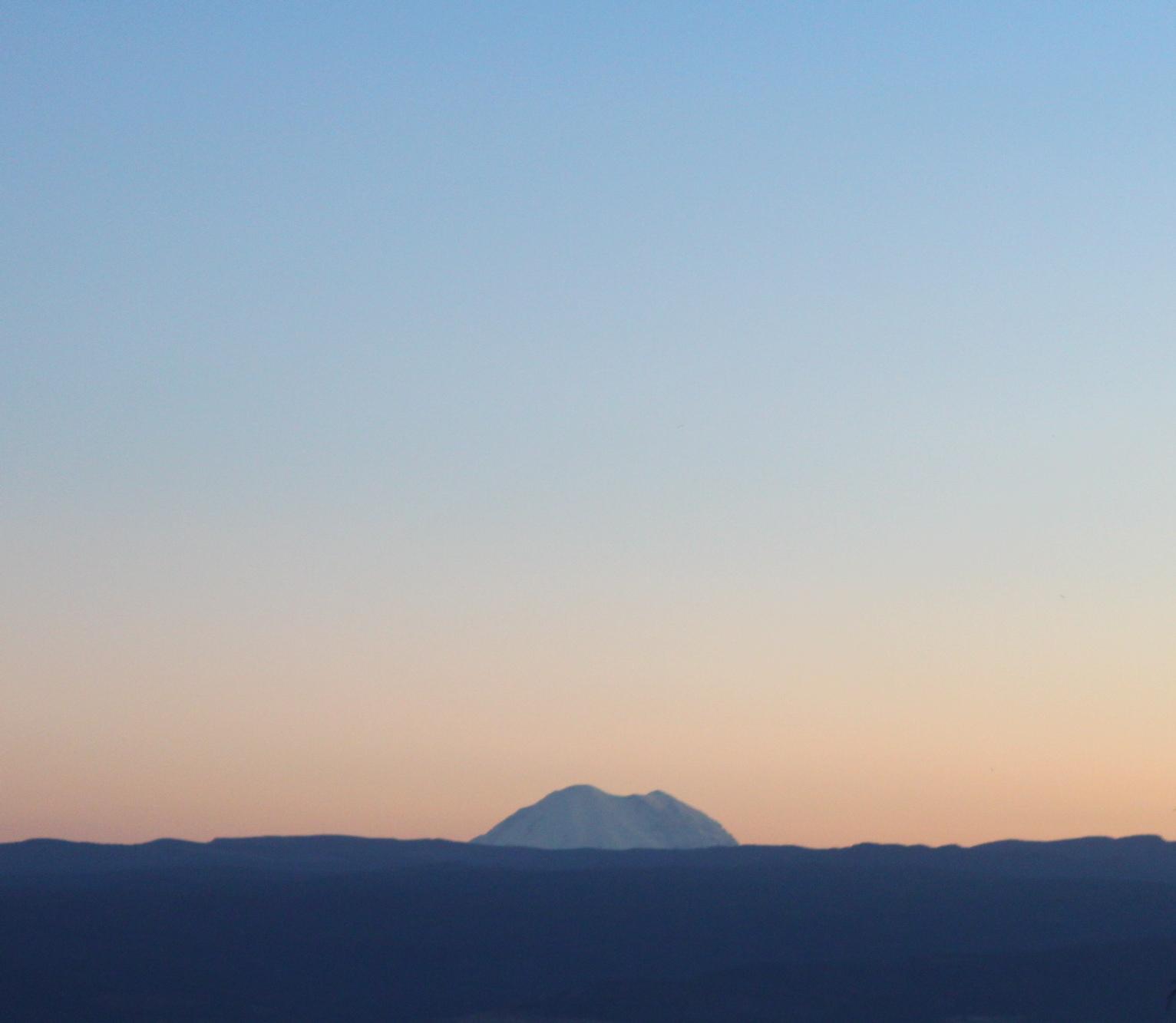 Mount Rainier Sunday