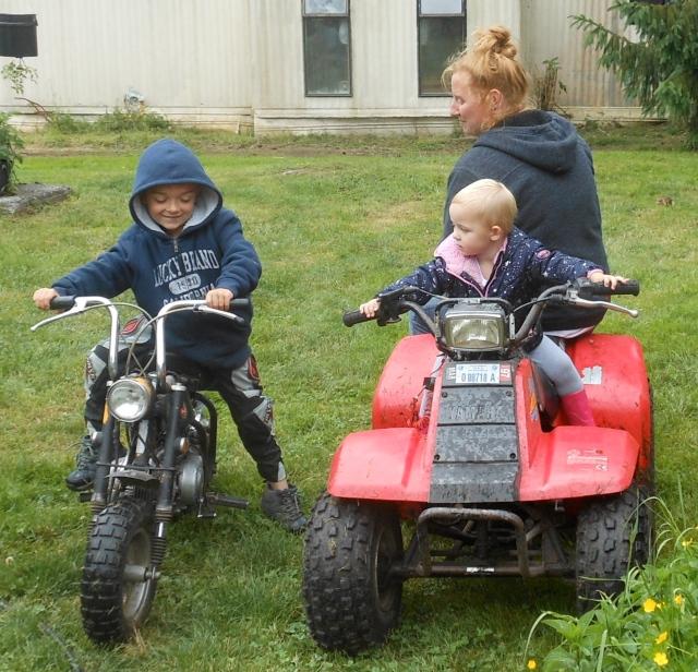 William, Piper and Jaylene