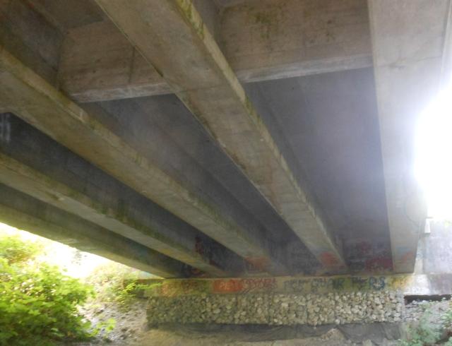 under F&S bridge