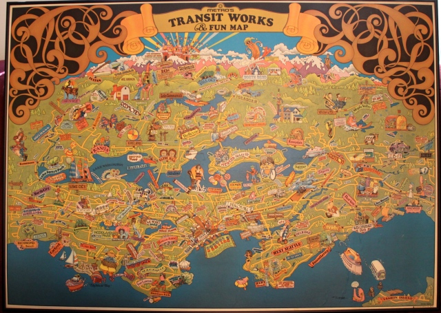 Metro's Transit Works Fun Map